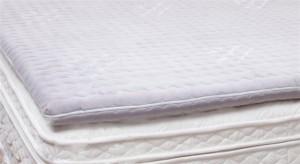 Pillow thin mattress on the sofa