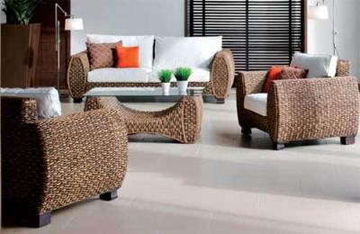 Ротанговая мебель в интерьере