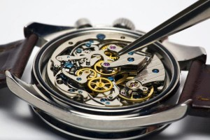 Repair of Swiss watches