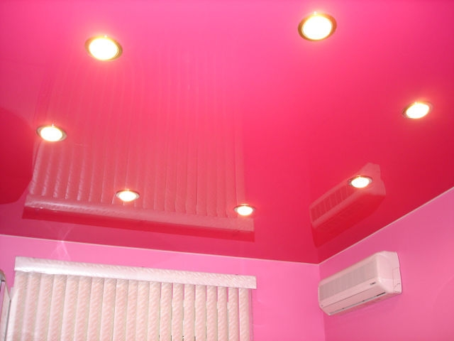 Select ceilings in color