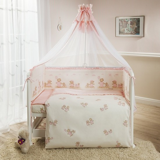 Sets in a cot by brand Ecoline
