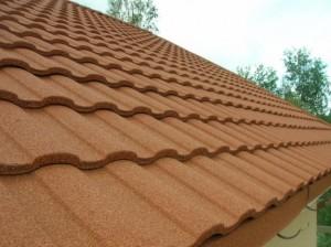Shingles and roof balcony