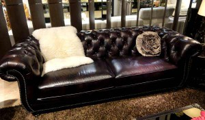 Sofas in the English style