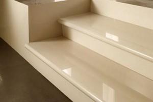 Stair treads of granite