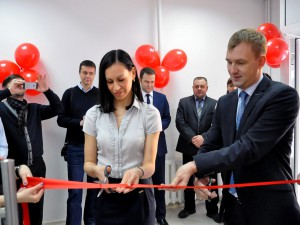 The opening of the office after renovation