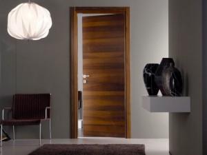 Veneered interior doors