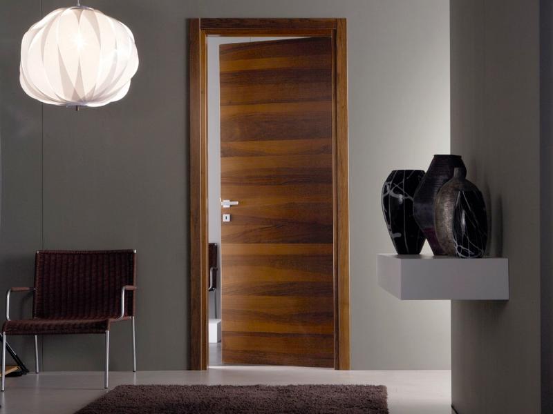 шпонированные межкомнатные двери фото