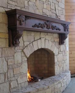 calculate fireplace