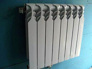 calculate the number of radiators