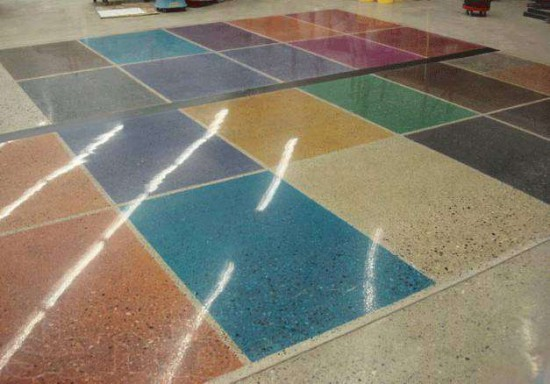 colored cement