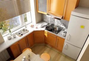 Дизайн интерьера кухни в «хрущевке»