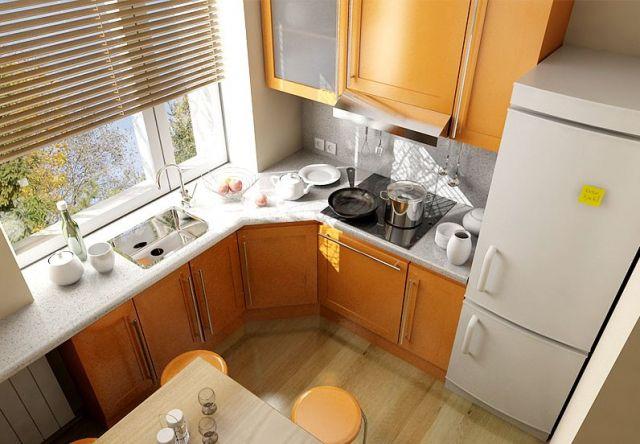 ремонт на маленькой кухне 6 кв.м фото