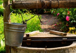 dig a well in the country