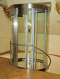 elevator in the cottage