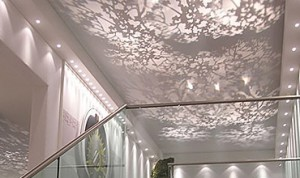fabric suspended ceilings