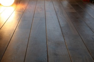 floor boards of larch