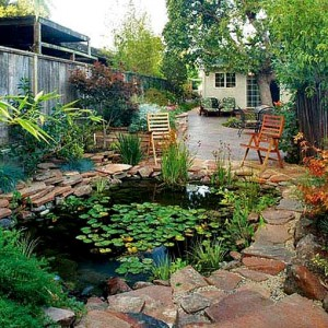 garden design in the country