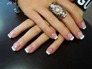 gel nails on forms