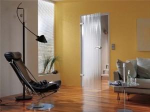 Стеклянные двери для малогабаритных квартир