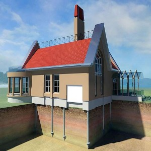 home on screw piles