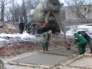improper transport of concrete