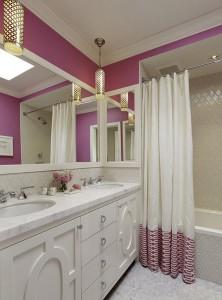 increase the area of the bathroom