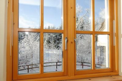 install wooden windows