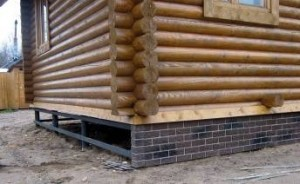 insulate the foundations on stilts