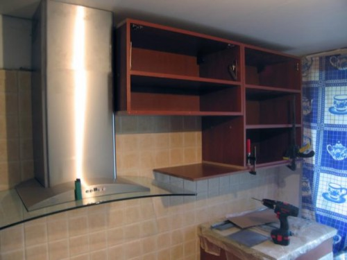 Как сделать шкаф на кухню из гипсокартона