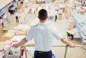 logistician in the courier service