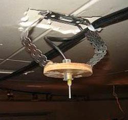 luminaires in suspended ceiling