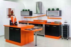 make the kitchen fashion