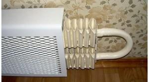 mask the radiator, радиатор отопления