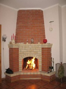 masonry fireplace, кладка каминов своими руками