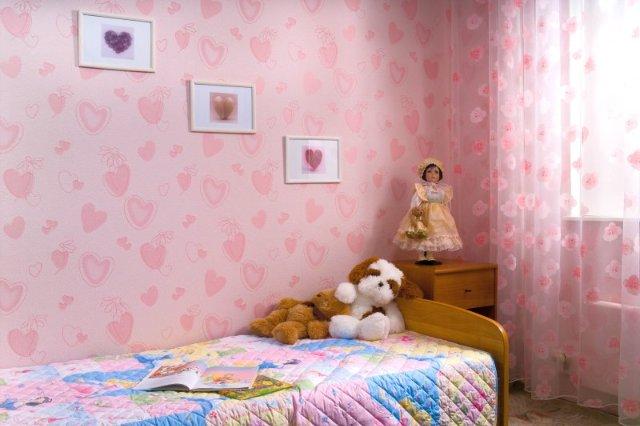 Обоев для детской комнаты для девочек