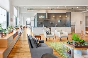 open interior design studio