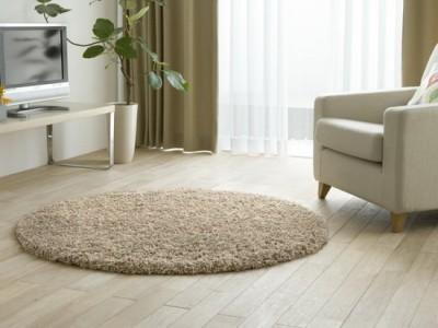 Круглые и овальные ковры в интерьере