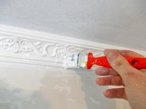 paint polyurethane moldings