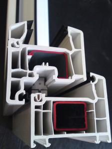 profile for plastic windows
