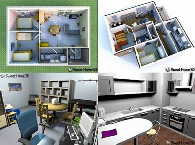 Программа для планировки домов и квартир Sweet home 3D