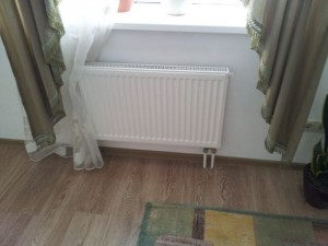 radiators with bottom connection