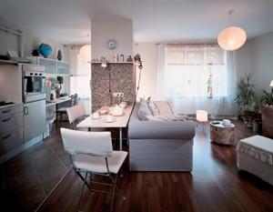 сделать перепланировку однокомнатной квартиры