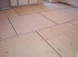rough wooden floor