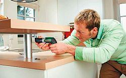 self-assemble cabinet furniture