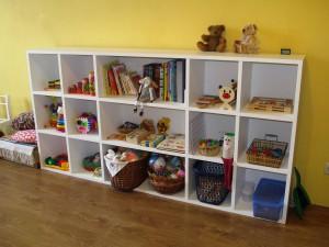 shelving for toys