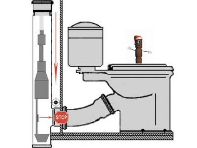 stub for sewage
