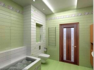 the door to the bathroom, Как вставить дверь в ванной