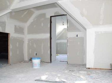 to begin repairs in the apartment
