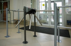 turnstiles in schools