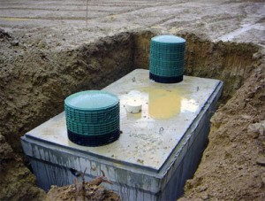 types of modern septic tanks